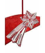 Baccarat Crystal Shooting Star Ornament Clear Christmas Gift New In Box - $69.30