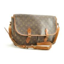 LOUIS VUITTON Monogram Gibeciere GM Shoulder Bag M42246 LV Auth sg086 - $320.00