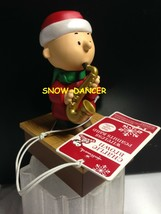 Hallmark 2011 Peanuts Band Wireless Charlie Brown On Saxophone - $199.99
