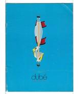 Vintage BRIAN DUBE JUGGLING EQUIPMENT 1996 Product CATALOG magic torch k... - $19.79
