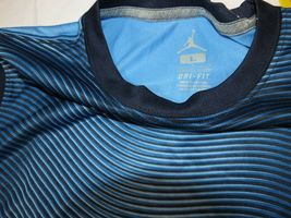 Jumpman Dri-Fit Youth Boys short sleeve t shirt M 10-12 953369 206 Univ Blue image 4