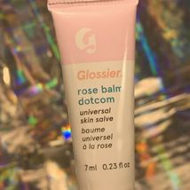 NEW! Glossier Balm Dotcom Duo Original And Rose Minis 7mL Each (14mL Total) image 3