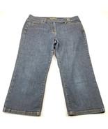 Ann Taylor Womens Jeans Shorts Curvy Fit Size 12 Lindsay Waist - $12.35