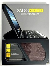 Zaggkeys Profolio Bluetooth Keyboard Case for iPad 2nd 3rd and 4th Gener... - $72.11