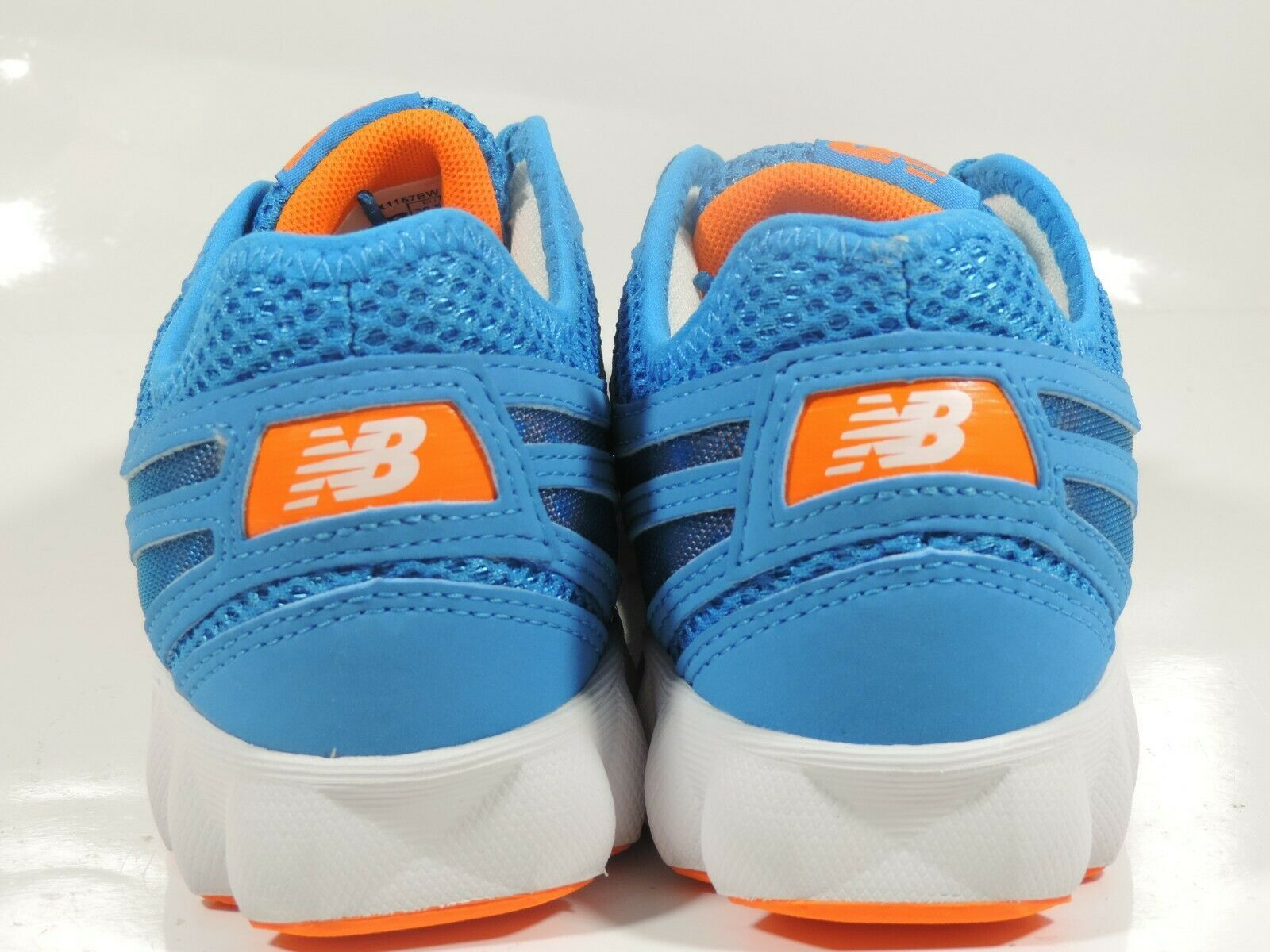 NEW BALANCE WOMENS SHOES WX1157BW SNEAKERS RUNNING BLUE WHITE SZ 6 B image 5