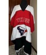 Houston Texans Unisex Adult One Size Zarape Serape Poncho NWOT - $55.00