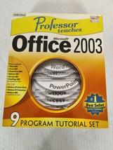 Professsor Teaches Microsoft Office 2003 (7 CD Set) - $14.95