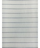 Zweigart Waste Canvas 14 Mesh for Cross Stitch White with Blue Easy Coun... - $4.70+