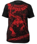 Spiderman Spinne Oder The Man Marvel Superheld Film Comic Subway T-Shirt S-2XL - $23.17