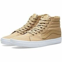VANS SK8-HI MONO CLASSICS CANVAS MEN 8 / WOMEN 9.5 SHOES KHAKI VN0A38GEM... - £53.34 GBP
