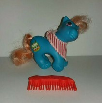Vintage G1 My Little Pony MLP Baby Drummer Playtime Brother w/Bandana & Comb - $25.00