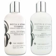 Biotin Vitamin Hair Growth Shampoo & Conditioner SET-High Potency Biotin Shampoo