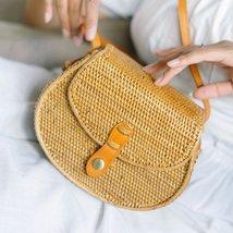 Satchel Rattan Bag - $56.00