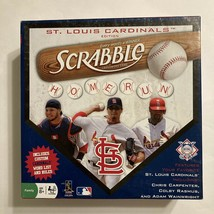 Scrabble St Louis Cardinals Edition Crossword Game MLB Baseball Tiles, C... - $49.99