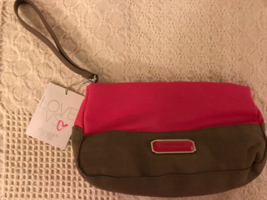 Victoria's Secret Cosmetics Bag Pink/ Tan w/tag - $9.50
