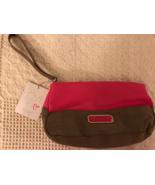 Victoria's Secret Cosmetics Bag Pink/ Tan w/tag - $9.50