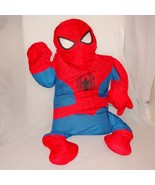 "Marvel Spider-Man Spiderman Snuggler Snugglers Pillow Case Cushion 2006 46"" - $45.99"