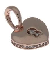 Pandora Rose Shimmering Keyhole Pendant 387687CZ - $47.04