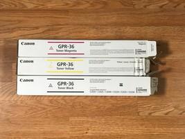 Lot of 3 New Open Box GPR-36 MYK For iR C2020 C2025 C2030 FedEx 2 Day Air!! - $137.36