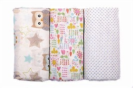 Organic Cotton Baby Swaddling Receiving Blanket... - $35.22 CAD