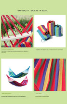 BAHAMA BLUE STRIPE SINGLE HAMMOCK - $59.95