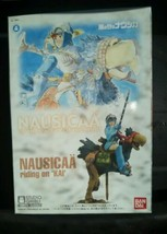 Nausucaa Bandai Model Valley of the Wind Riding on Kai In Box Complete - $29.99