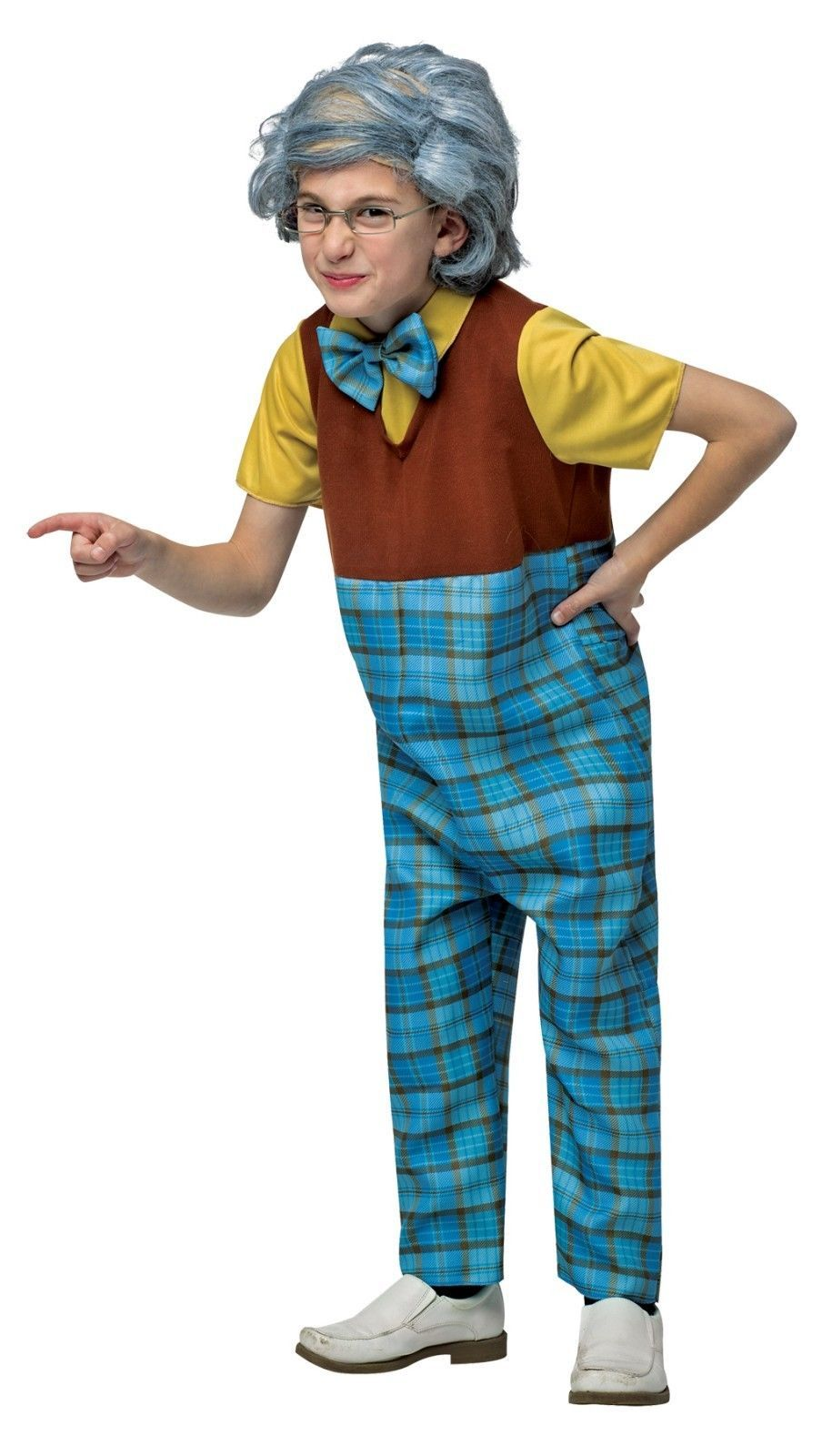 Comical Size 4-6 Grampa Costume by Rasta Imposter/NWT