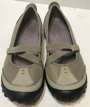 Privo By Clarks Womens Size 7 Tan Mary Jane Slip on Shoes Adjustable - $30.42