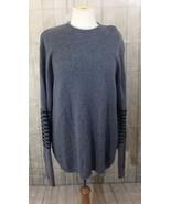 Patagonia Men's Sweater Wool Stripe Gray Large - $29.09