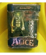 MAD HATTER SERIES ONE AMERICAN MCGEE'S ALICE ACTION FIGURE  - $35.63