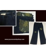 Boho Chic Women's Jeans Sz 12 Flare Made in USA - $17.99