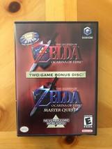 Die Legende von Zelda Okarina Zeit Master Quest Bonus, Nintendo Gamecube... - $49.87