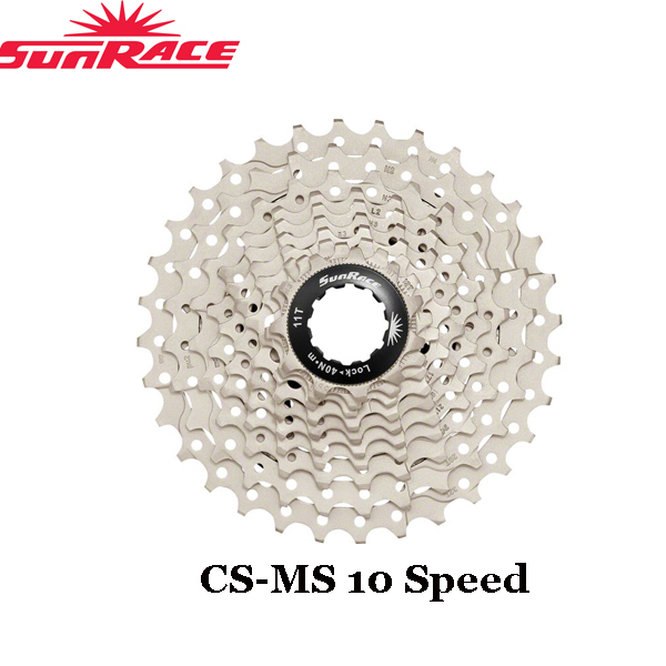 SUNRACE CSRX1 Cassette 11-28//32//36T 2x11 Speed Road Bike Sliver Black