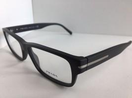 New PRADA VPR 2R2 TV4-1O1 54mm Matte Gray Men's Eyeglasses Frame No case - $189.99