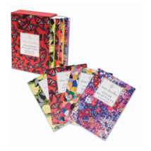 Vera Bradley Coloring Collection 4 Book Set with Slipcase New Sealed 4x6 - $19.28