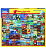 White Mountain I Love Islands - 1000 Piece Jigsaw Puzzle - $19.99