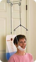 Seated C-Trax Over-door Cervical Traction with Standard Halter - $41.66