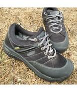 KEEN Presidio Waterproof Leather Walking Trail Lace Oxfords Black Women 7.5 EU38 - $40.57