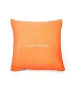 Solid Color Cotton Canvas Cushion Cover Home Decor Throw Pillow Case Lounge - $10.88