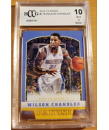 Wilson Chandler 2012-13 Panini #174 Base Card BCCG Graded 10 Denver Nugg... - $1.00