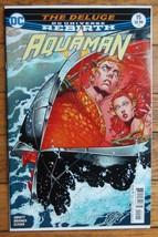 Aquaman #15(March 2017,DC Comics)-DC Universe Rebirth-The Deluge - $9.00