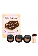 Too Faced Passport To Bronze Featuring Chocolate Soleil, Milk Cocolate S... - $29.69