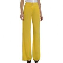 Helmut Lang Women's Yellow Vega Pants Size 6 MSRP: $425.00 - $98.99