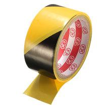 45mm Black and Yellow Self Adhesive Hazard Warning Safety Tape Marking Safety Ca image 4