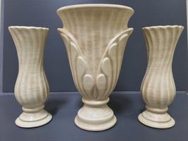Haeger Pottery 3 Piece Vase Set - $99.99