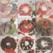 CREATE A WREATH | Easter | Christmas | Other Seasonal Designs | Sewing Pattern - $4.89