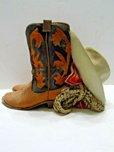 Vintage Coin Bank  Cowboy Boot, Western Hat, Lariat, Red Scarf  (r2-3) - $7.92