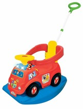 Kiddieland Toys Limited Disney Mickey 4-in-1 Drive Along Ride On - $44.00