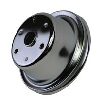 Crankshaft Pulley Single-Groove LWP Long Water Pump For Chevy SBC 262 307 400 image 8