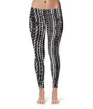 Tire Marks Car Bike Trucker Sport Leggings - $32.99 - $38.99